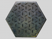 Hexagonal pavement BERTA