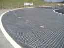 Pavement SKID-PAN Car racing polygon 3