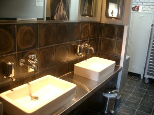 Tiles 250x250x22JRI used in bathroom and WC