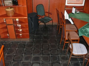 Floor in pub
