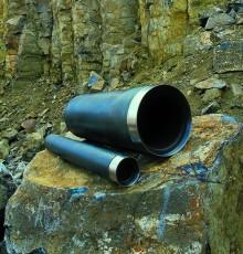 Basalt heading tubes