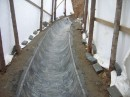 Sewerage bottom lining R400