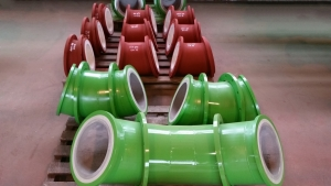 Abrasion resistant and chemically resistant basalt pipe 2